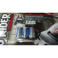 Intellect (#16006T301) Battery 1600mah 7.2v Dancing Rider T3-01 Tamiya 57405 T301 FREE SHIPPING