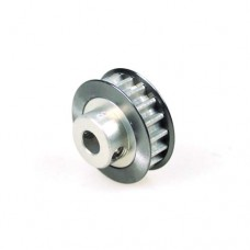 3racing (#3RAC-3PY/18) Aluminum Center Pulley Gear T18