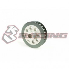 3racing (#3RAC-3PY/25) Aluminum Center Pulley Gear T25