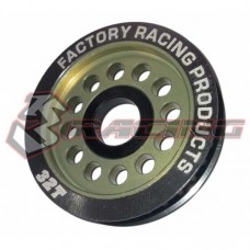 3racing (#3RAC-3PY/32) Aluminum Diff. Pulley Gear T32