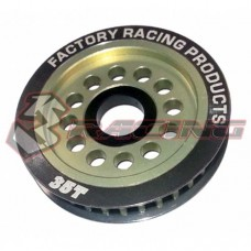 3racing (#3RAC-3PY/35) Aluminum Diff. Pulley Gear T35