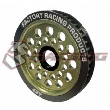 3racing (#3RAC-3PY/42) Aluminum Diff. Pulley Gear T42