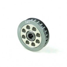 3racing (#3RAC-3PYW/24) Aluminum Center One Way Pulley Gear T24