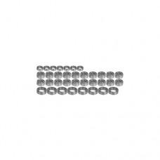 3racing (#BS-CR01/V1) Full Ball Bearing Set For CR-01