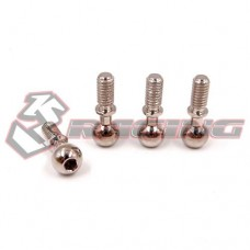 3racing (#CRA-129) 6.8mm Pillow Ball For Crawler EX