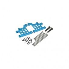 3racing (#FF02-01/LB) Aluminium Rear Lower Suspension Arms For FF02