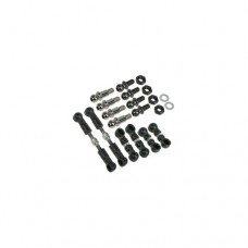 3racing (#FF02-02) 64 Titanium Turnbuckle Set For FF02