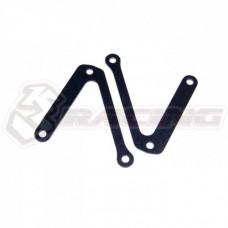 3racing (#FGX-101A) Fiber Upper Arm Stiffener For FGXEVO