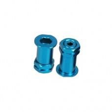 3racing (#GB-24/LB) Aluminum Front Wheel Adaptor 10mm For GB-01