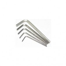 3racing (#HKU-2006) Mulitiple Size Hex Wrench (5 Pcs)