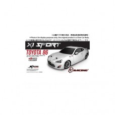 3racing (#KIT-86XS) 3RACING Sakura XI Sport 1/10 Touring & Toyota 86 Body Set