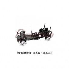 3racing (#KIT-D4ARWDS/BK) 3RACING Sakura D4 1/10 Drift Car(RWD - Sport Black edition)- Pre-assembled
