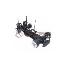 3racing (#KIT-D4RWDS/BK) 3RACING Sakura D4 1/10 Drift Car(RWD) - Sport Black edition