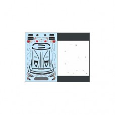 3racing (#LBD-86B) Toyota 86 Sticker and Masking