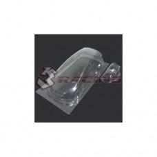 3racing (#LBD-CIVICMK9A) Civic MK9 Body and Light Case Set (Clear)