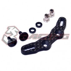 3racing (#M07-09) Graphite Front Shock Tower For M07