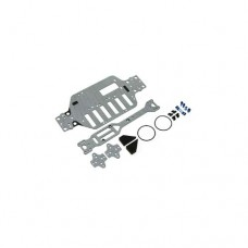 3racing (#M18T-22/BU/SG) SSG Graphite Main Chassis Set For M18T
