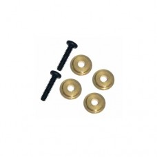 3racing (#M4WD-03/GO) M6.4 X 1.7 Ball Bearing Spacer (gold)