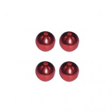 3racing (#M4WD-04/RE) 6mm Damper Ball (red)