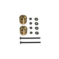 3racing (#M4WD-05/GO) Damper Weight 9.4g(Gold)