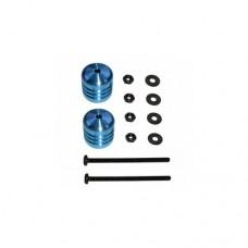 3racing (#M4WD-05/LB) Damper Weight 9.4g(Light Blue)