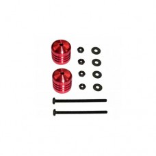 3racing (#M4WD-05/RE) Damper Weight 9.4g(Red)