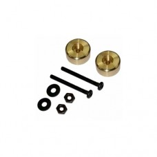 3racing (#M4WD-06/GO) Cylindrical Weight 4.3g(Gold)