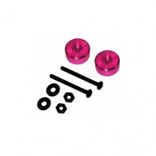 3racing (#M4WD-06/PK) Cylindrical Weight 4.3g(Pink)