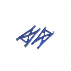 3racing (#MT-024) Aluminum Rear Suspension Arms For Mini-T