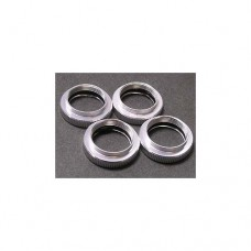 3racing (#RE-002/S) Damper Ring For Revo - Silver