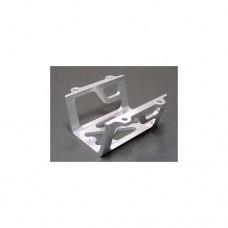 3racing (#RE-017/S) Center Gear Box Protect Case For Revo - Silver