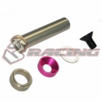 3racing (#SAK-U424) Center Pulley Shaft Set For Sakura Ultimate 2014