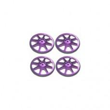 3racing (#ST-001/PU4) Setup Wheels (4 Pcs) - Purple