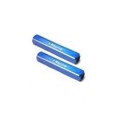 3racing (#ST-003/BU) 13mm Chassis Droop Gauge Blocks (2 Pcs) - Blue