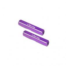 3racing (#ST-003/PU) 13mm Chassis Droop Gauge Blocks (2 Pcs) - Purple