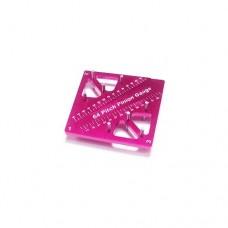 3racing (#ST-007/PK) Pinion & Camber Gauge - Pink