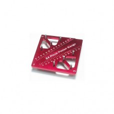 3racing (#ST-007/RE) Pinion & Camber Gauge - Red