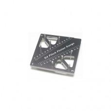 3racing (#ST-007/TI) Pinion & Camber Gauge - Titanium