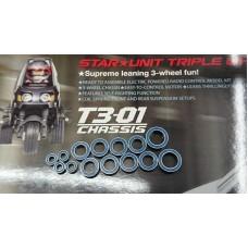 Toyscube (#BearingSet-T301) Dancing Rider T3-01 Ball Bearing Set T301 Tamiya 57405 FREE SHIPPING