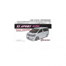 3racing (#KIT-ALPXS) 3RACING Sakura XI Sport 1/10 Touring & Toyota Alphard MK1 Body Set