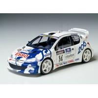 Tamiya (#24221) PEUGEOT 206 WRC