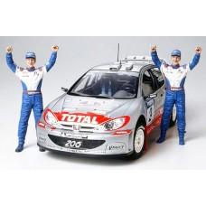 Tamiya (#24262) !!! PEUGEOT 206 WRC 2002